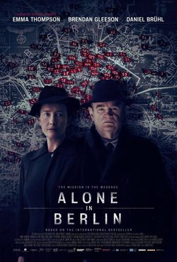Cartel de Alone in Berlin