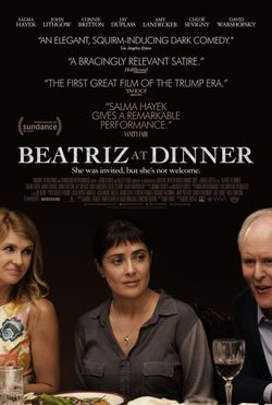 Cartel de Beatriz at Dinner