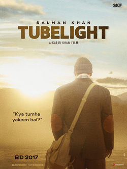 Cartel de Tubelight