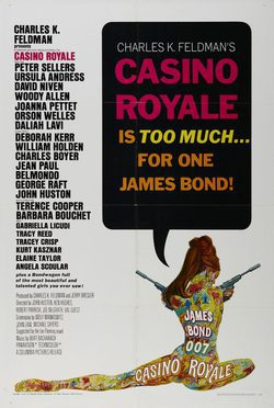 Cartel de Casino Royale
