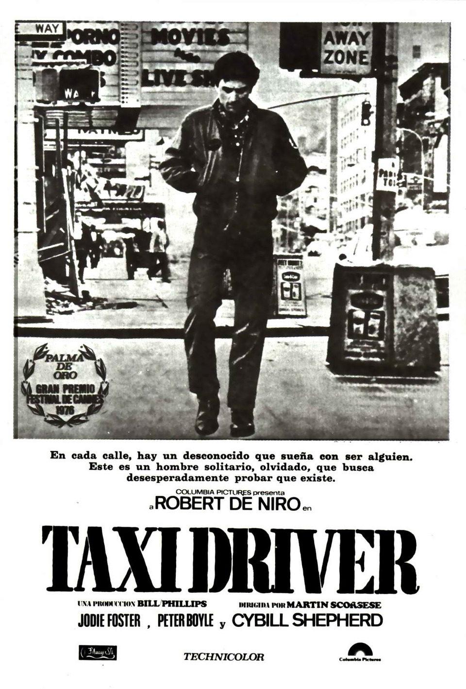 Cartel España de 'Taxi Driver'