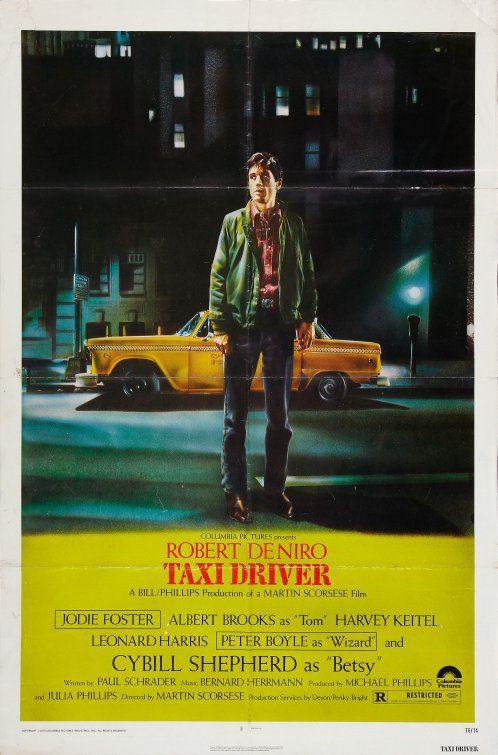Cartel Estados Unidos de 'Taxi Driver'