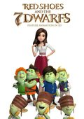 Cartel de Red shoes & the 7 dwarfs
