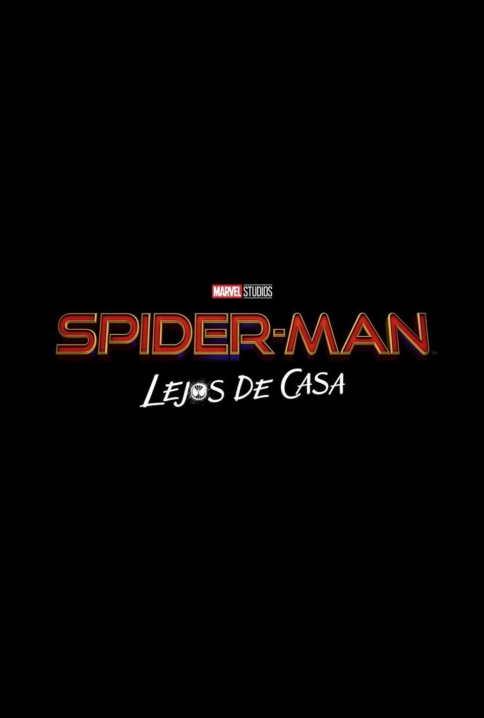 Cartel Logo España de 'Spider-Man: Lejos de casa'