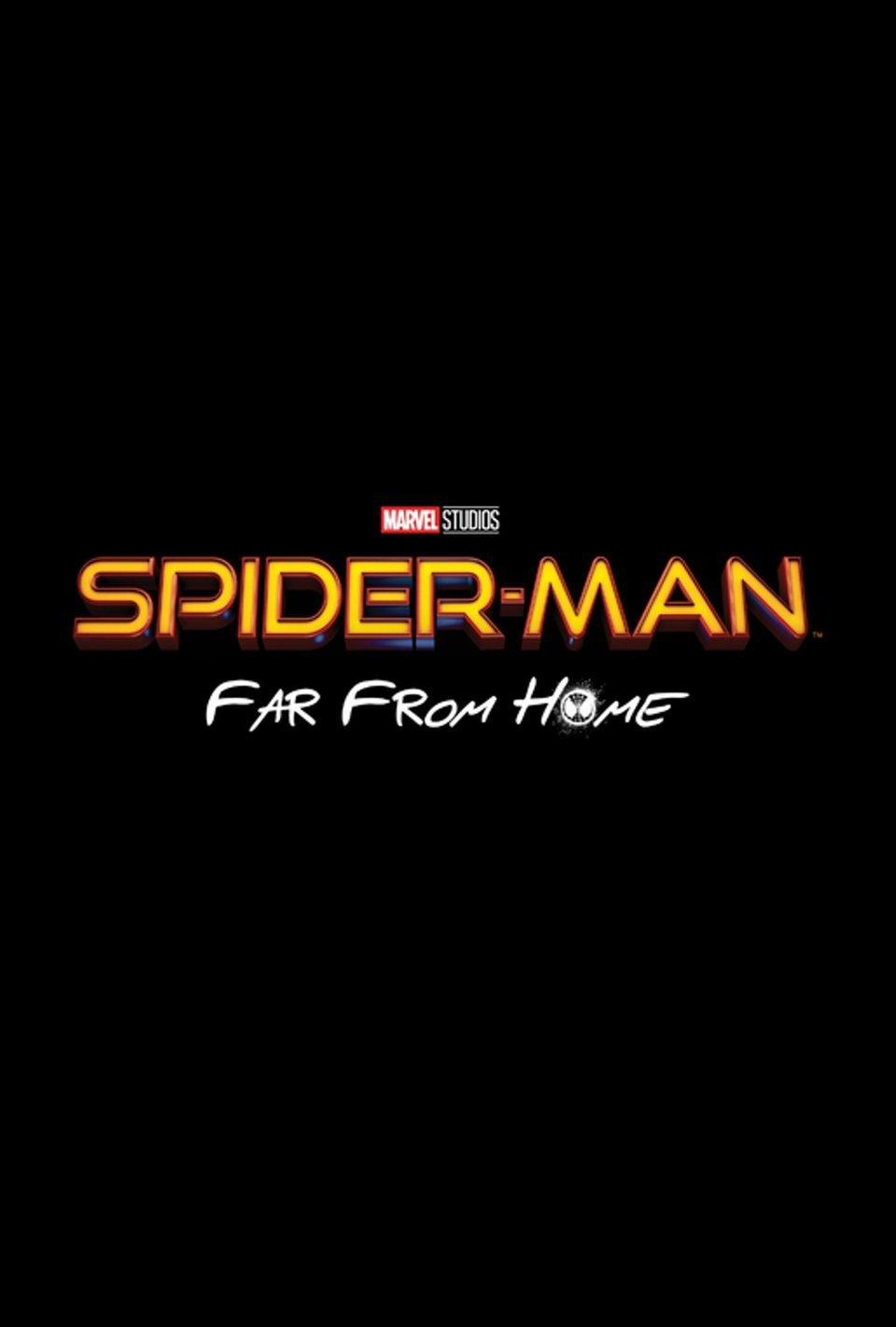 Cartel Logo UK de 'Spider-Man: Lejos de casa'