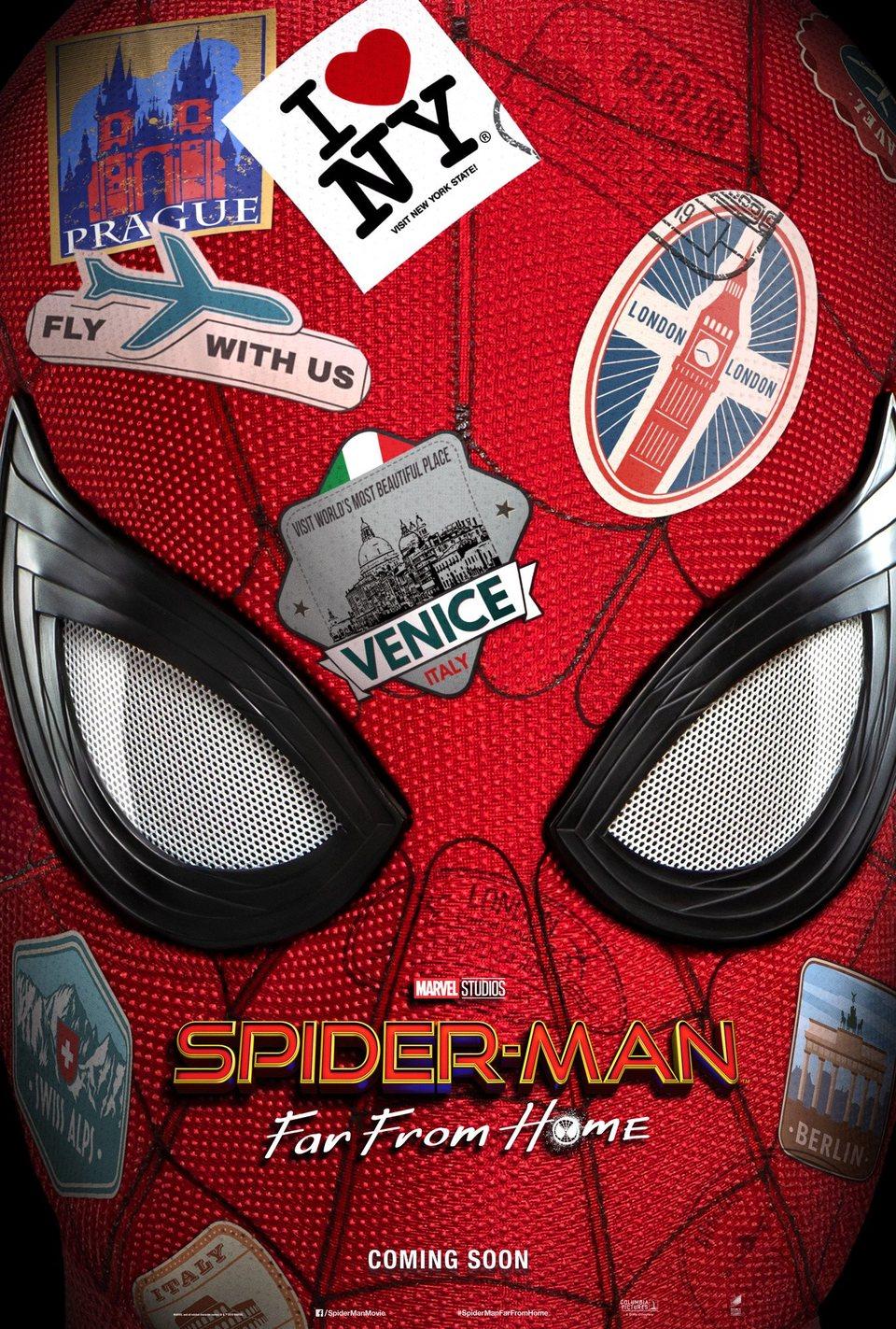 Cartel EEUU de 'Spider-Man: Lejos de casa'