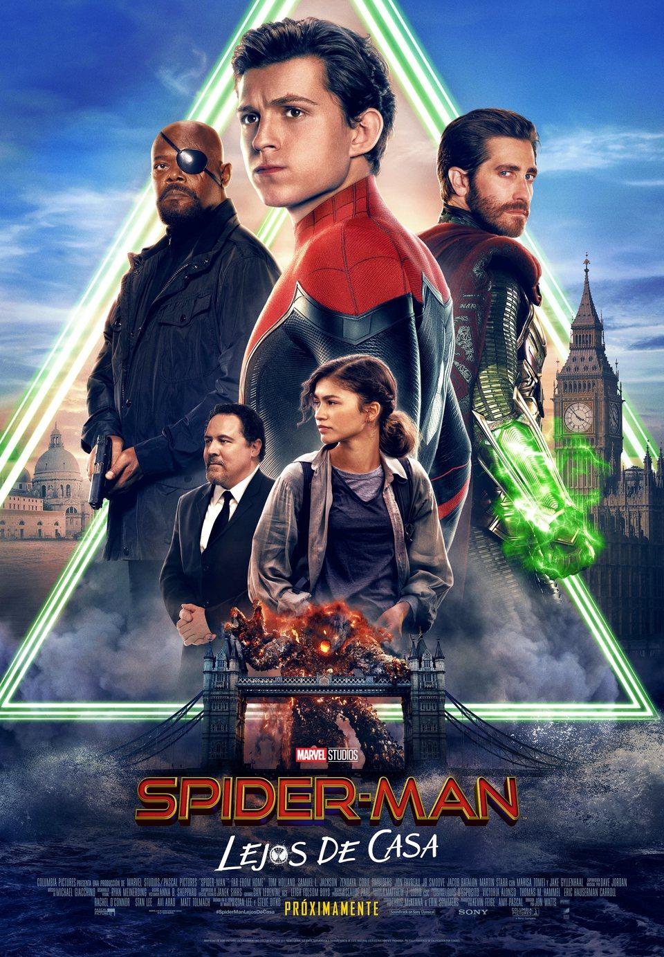 Cartel Cartel España Final de 'Spider-Man: Lejos de casa'