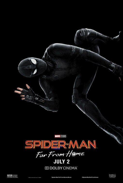 Cartel Traje negro #1 de 'Spider-Man: Lejos de casa'