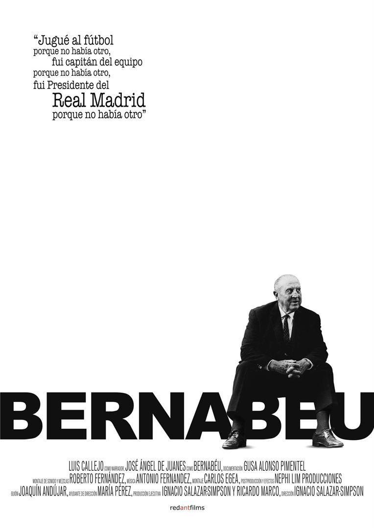 Cartel Cartel España de 'Bernabéu'