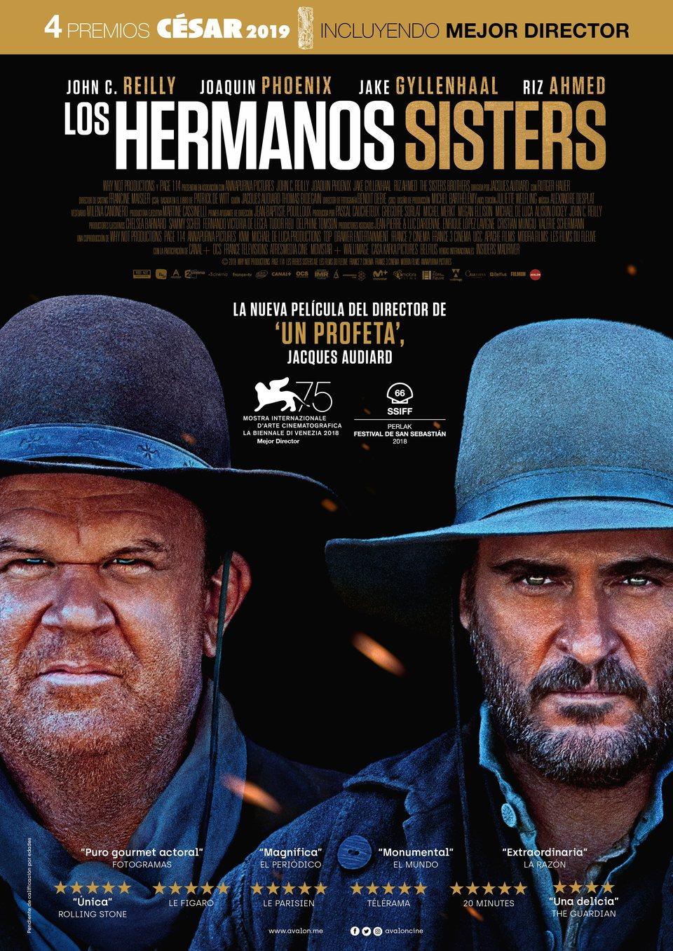 Cartel España de 'Los Hermanos Sisters'