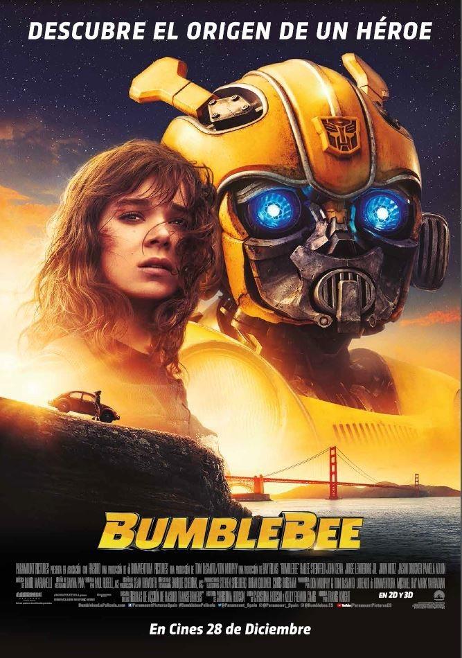 Cartel Póster final 'Bumblebee' de 'Bumblebee'