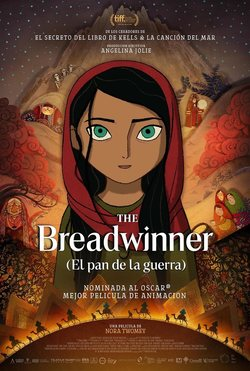 Cartel de El pan de la guerra (The Breadwinner)