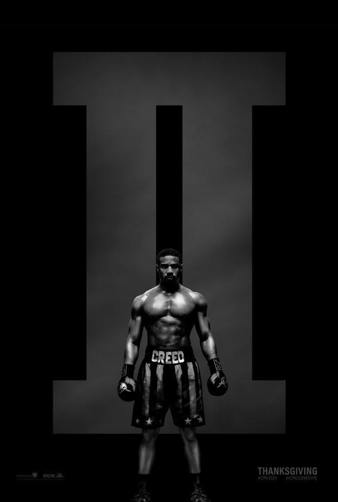 Cartel Estados Unidos de 'Creed II: La leyenda de Rocky'