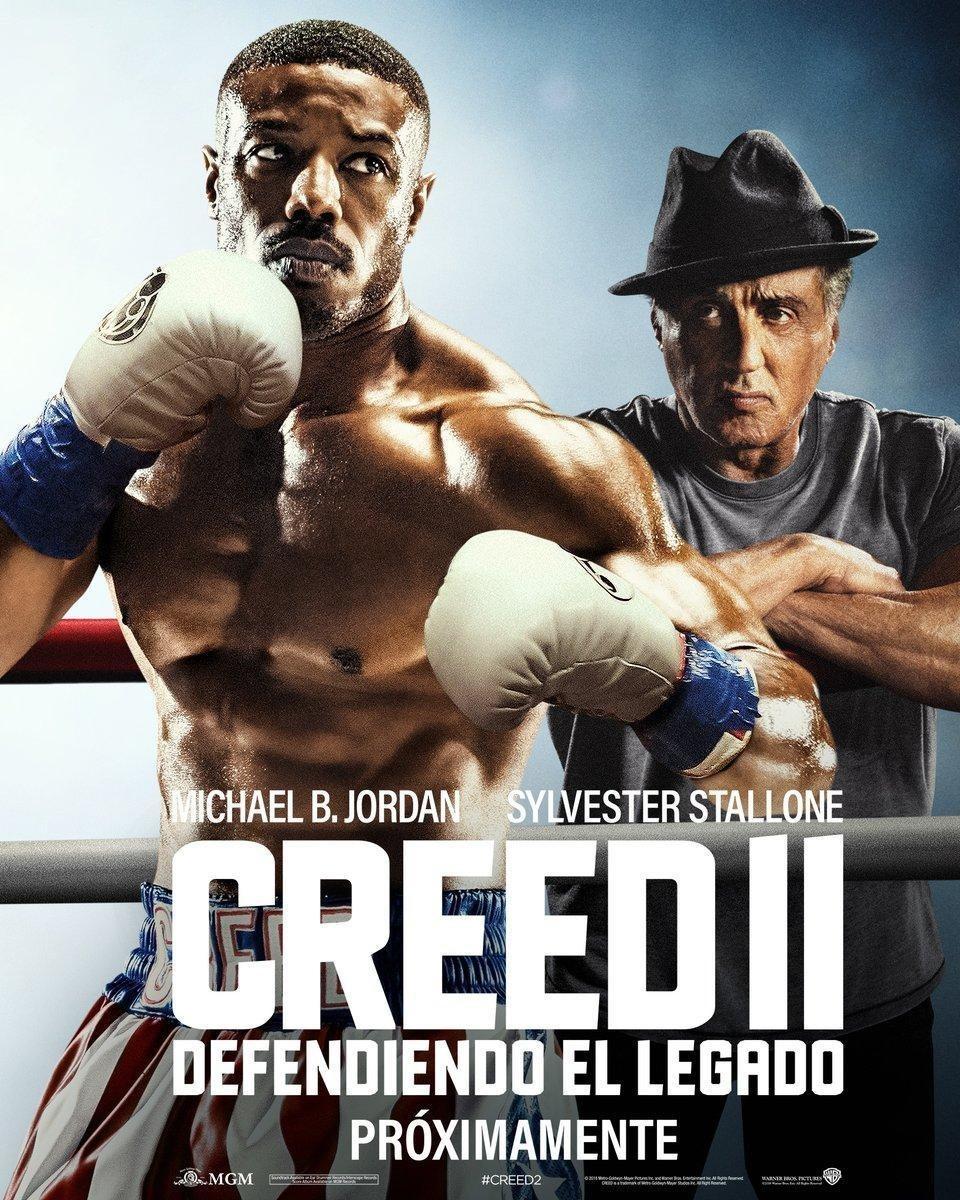 Cartel Poster 'Creed II. Defendiendo el legado' de 'Creed II: La leyenda de Rocky'