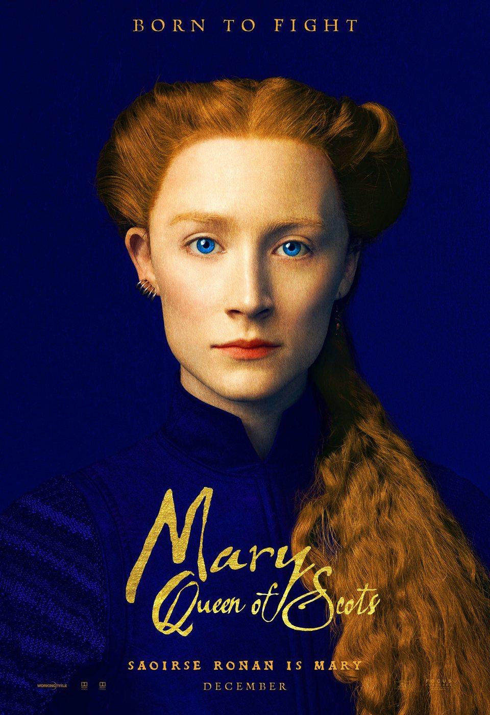 Cartel Reino Unido de 'María Reina de Escocia'