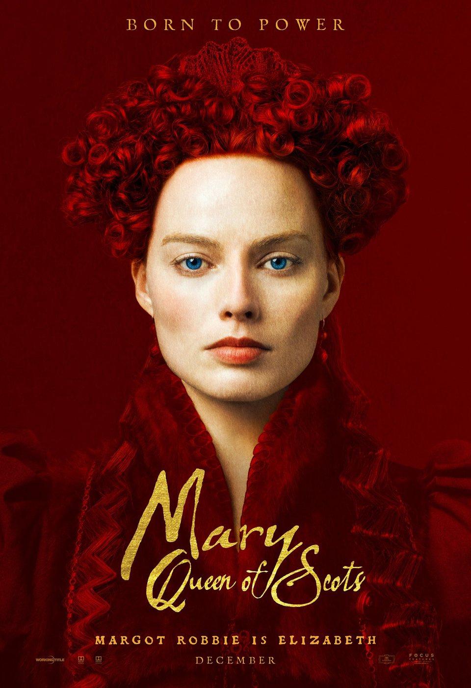Cartel Reino Unido #2 de 'María Reina de Escocia'
