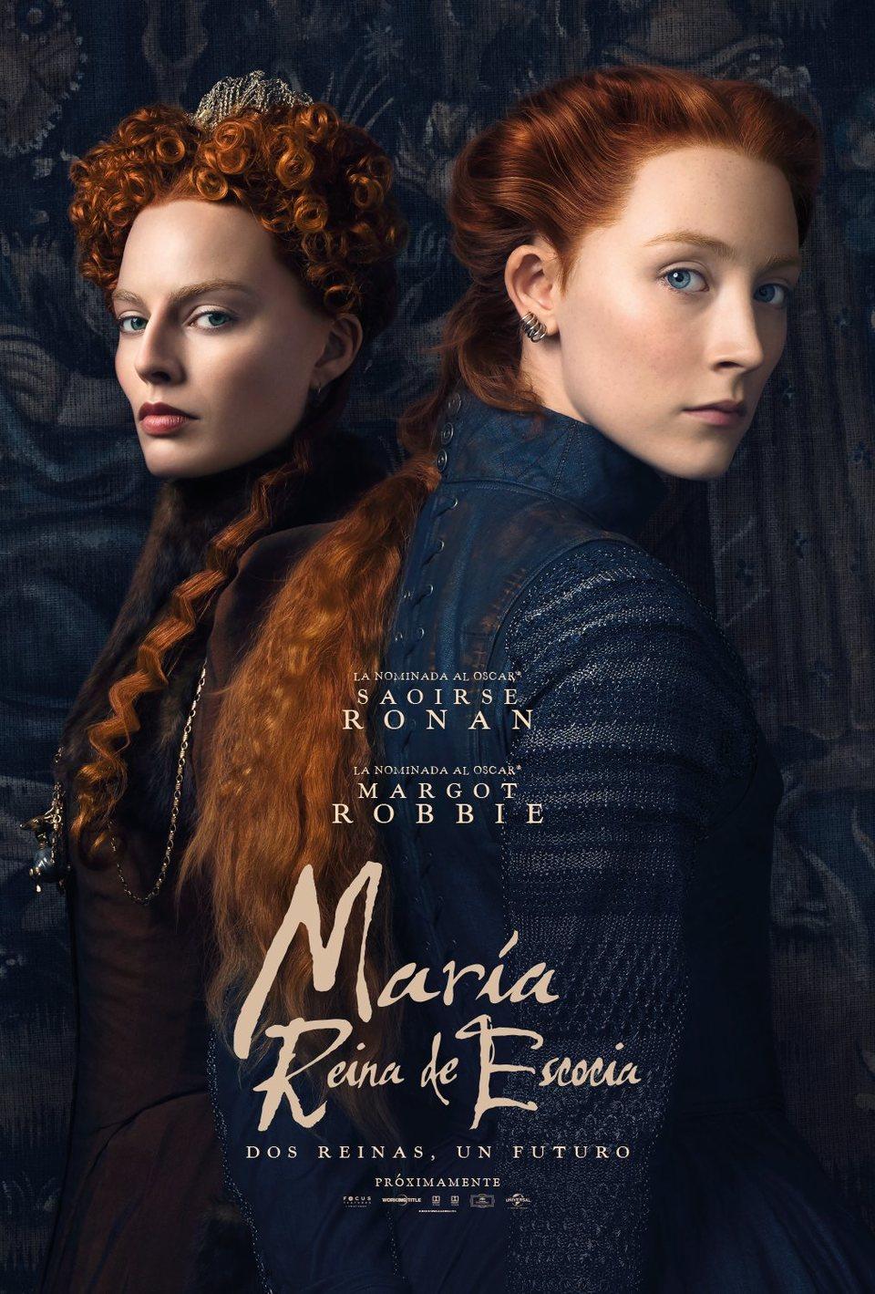 Cartel Poster español 'María, Reina de Escocia' de 'María Reina de Escocia'
