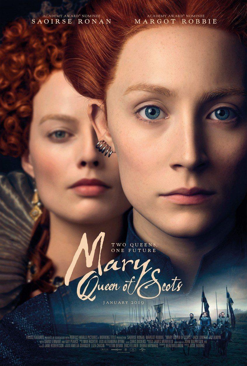 Cartel UK de 'María Reina de Escocia'