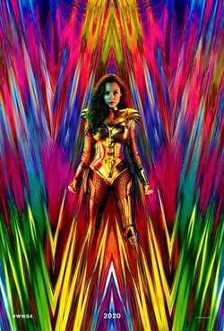 Cartel de Wonder Woman 1984