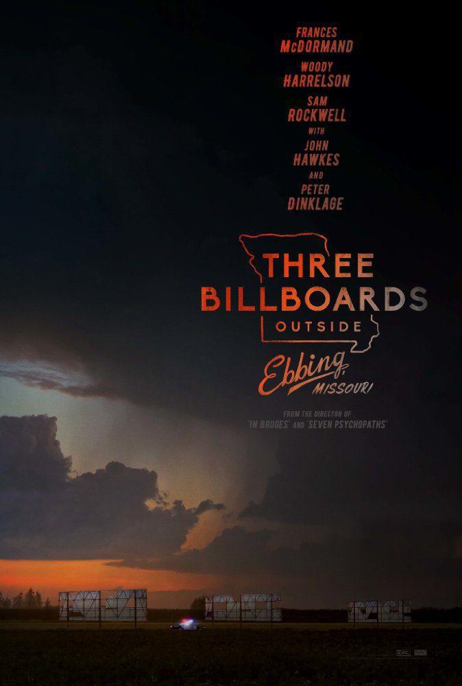 Cartel Internacional de 'Tres anuncios en las afueras'