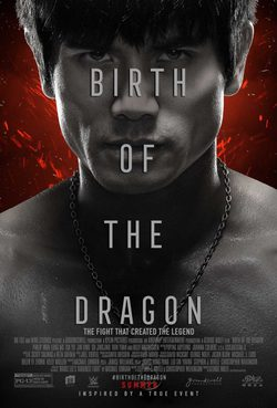Cartel de Birth of the Dragon