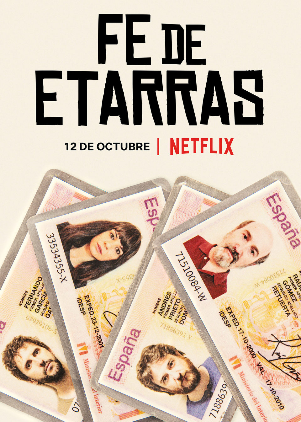 Cartel  de 'Fe de Etarras'