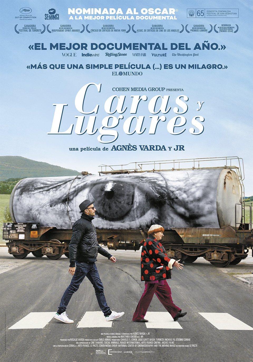 Cartel España de 'Caras y lugares'