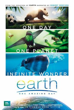 Cartel de Earth: One Amazing Day