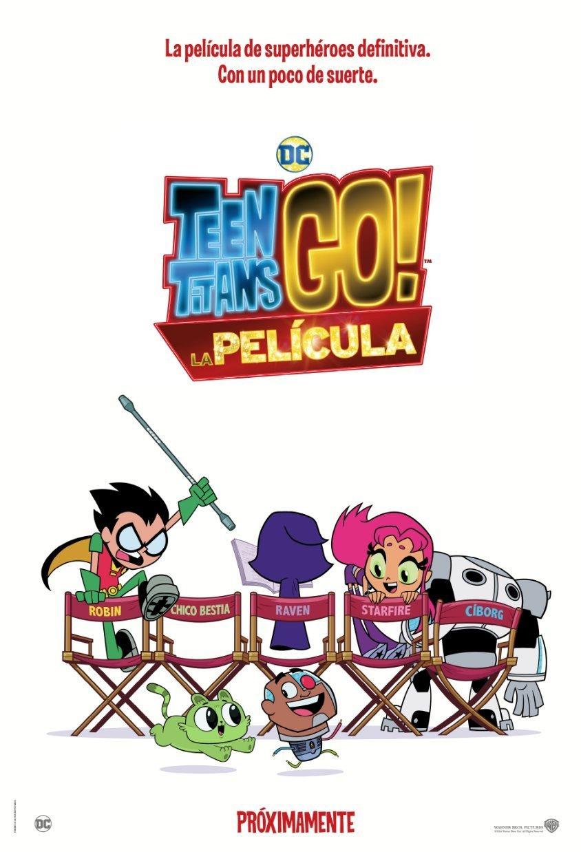 Cartel España de 'Teen Titans Go! La película'