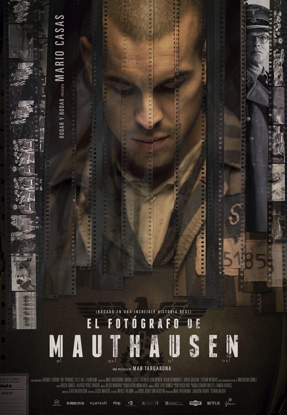 Cartel Poster España de 'El fotógrafo de Mauthausen'