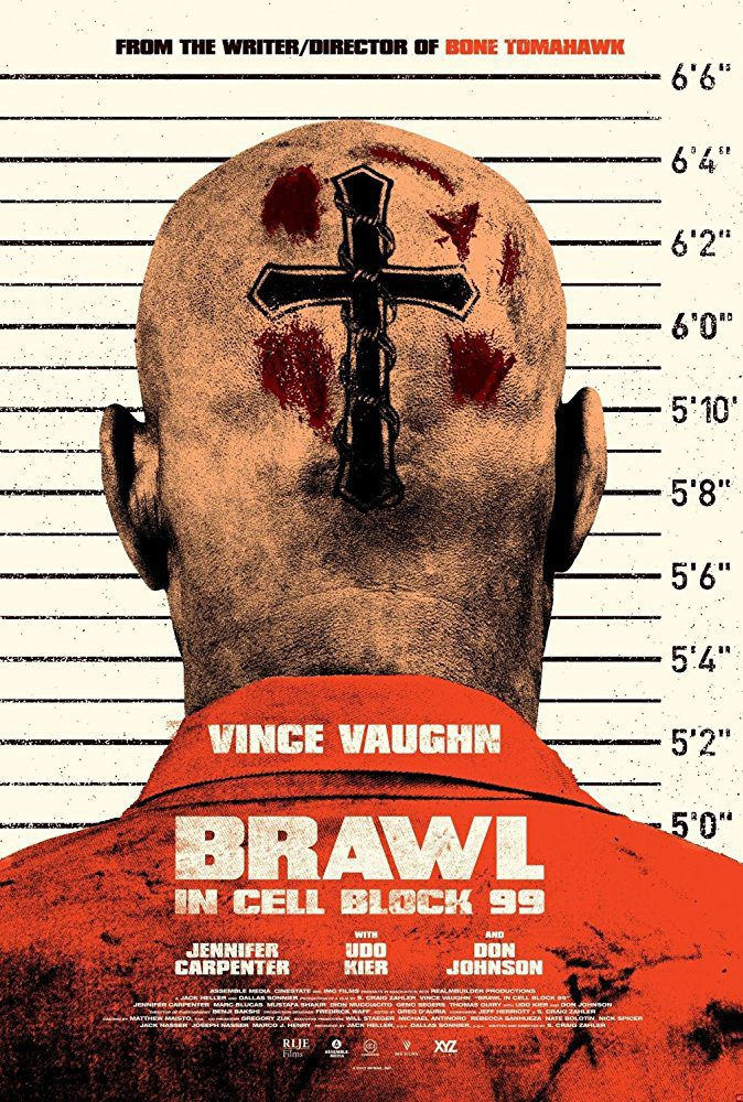 Cartel Reino Unido de 'Brawl In Cell Block 99'