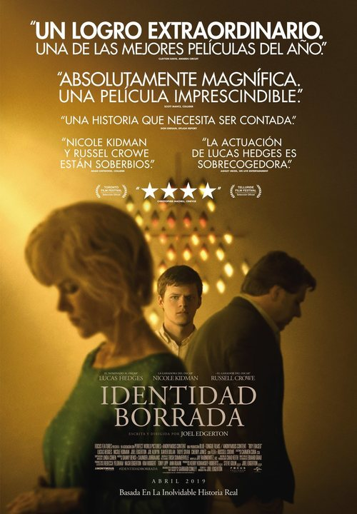 Identidad borrada (2018) streaming