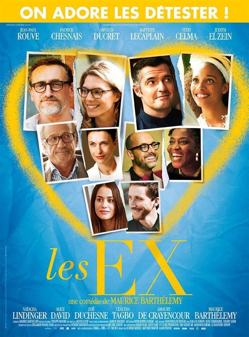 Cartel Francia de 'Los ex'