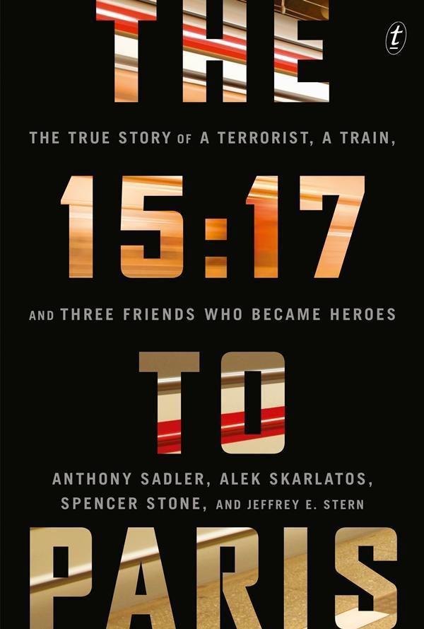Cartel Teaser inglés de '15:17 Tren a Paris'