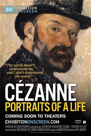 Cartel Poster de 'Cézanne, retratos de una vida'