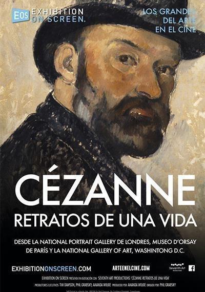 Cartel Poster español de 'Cézanne, retratos de una vida'