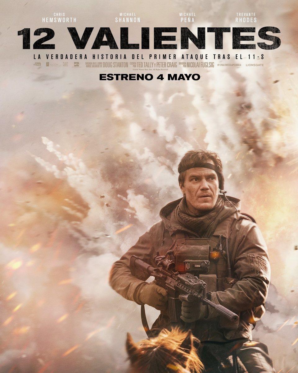 Cartel Michael Shannon España de '12 Valientes'