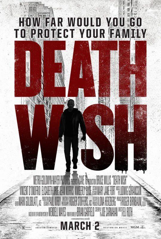 Cartel Death Wish de 'El justiciero'