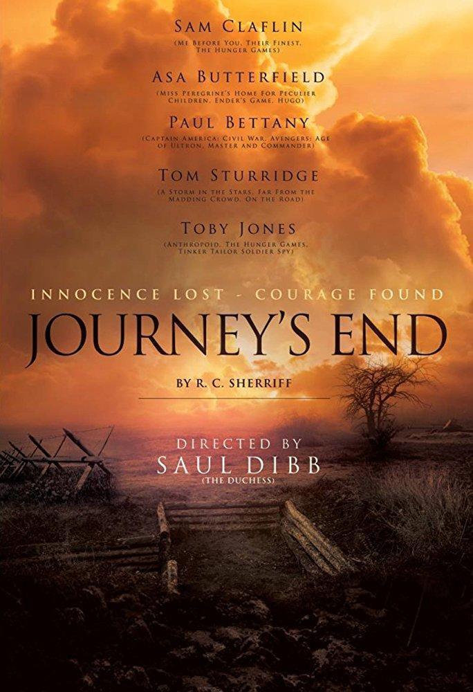 Cartel teaser poster de 'Journey's End'