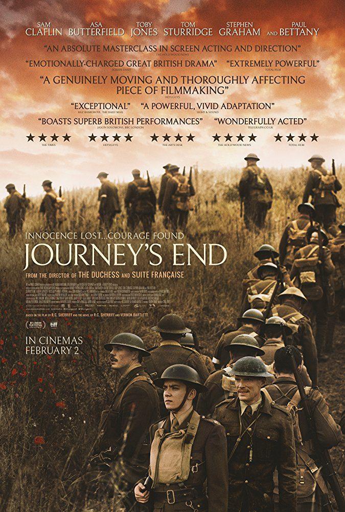 Cartel póster de 'Journey's End'
