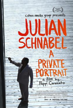 Cartel de Julian Schnabel: un retrato privado