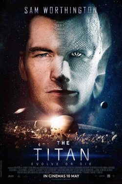 Cartel de The Titan