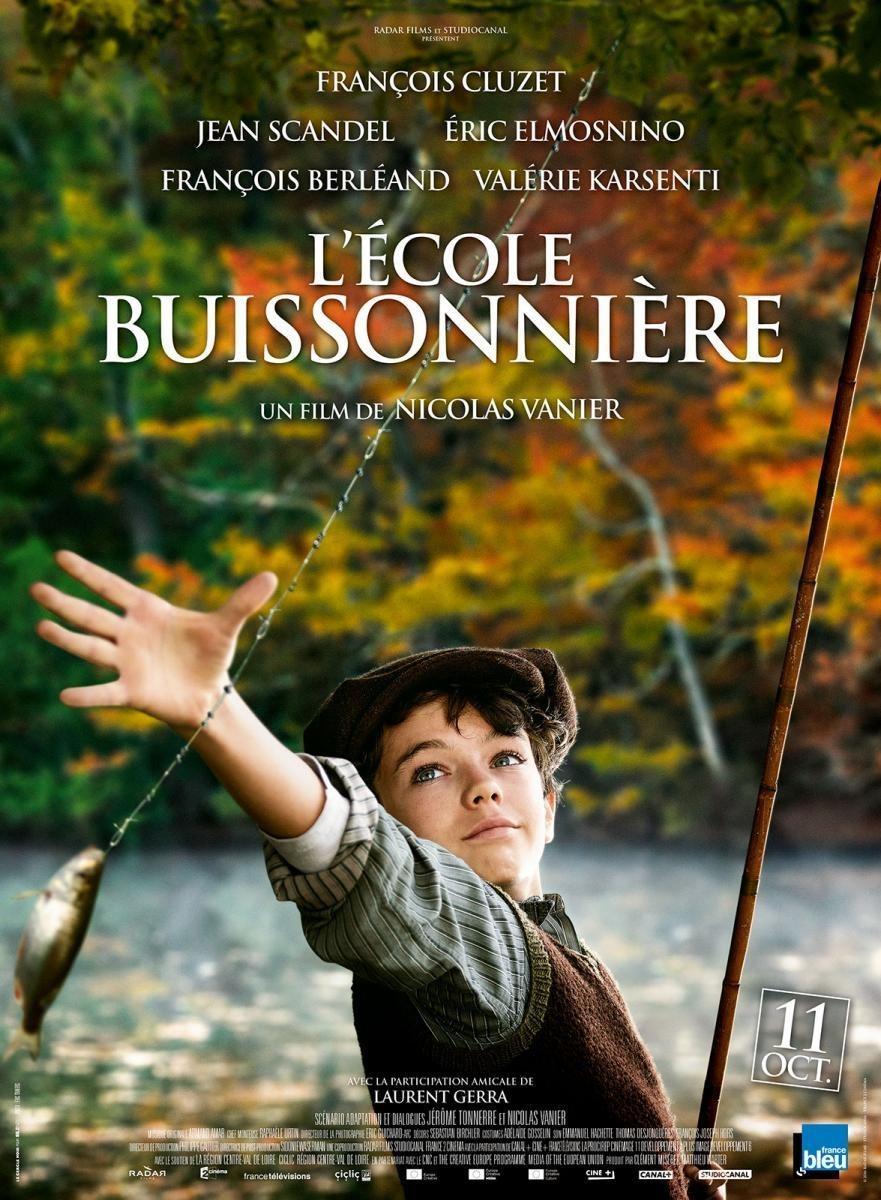 Cartel Cartel Francia de 'La escuela de la vida'