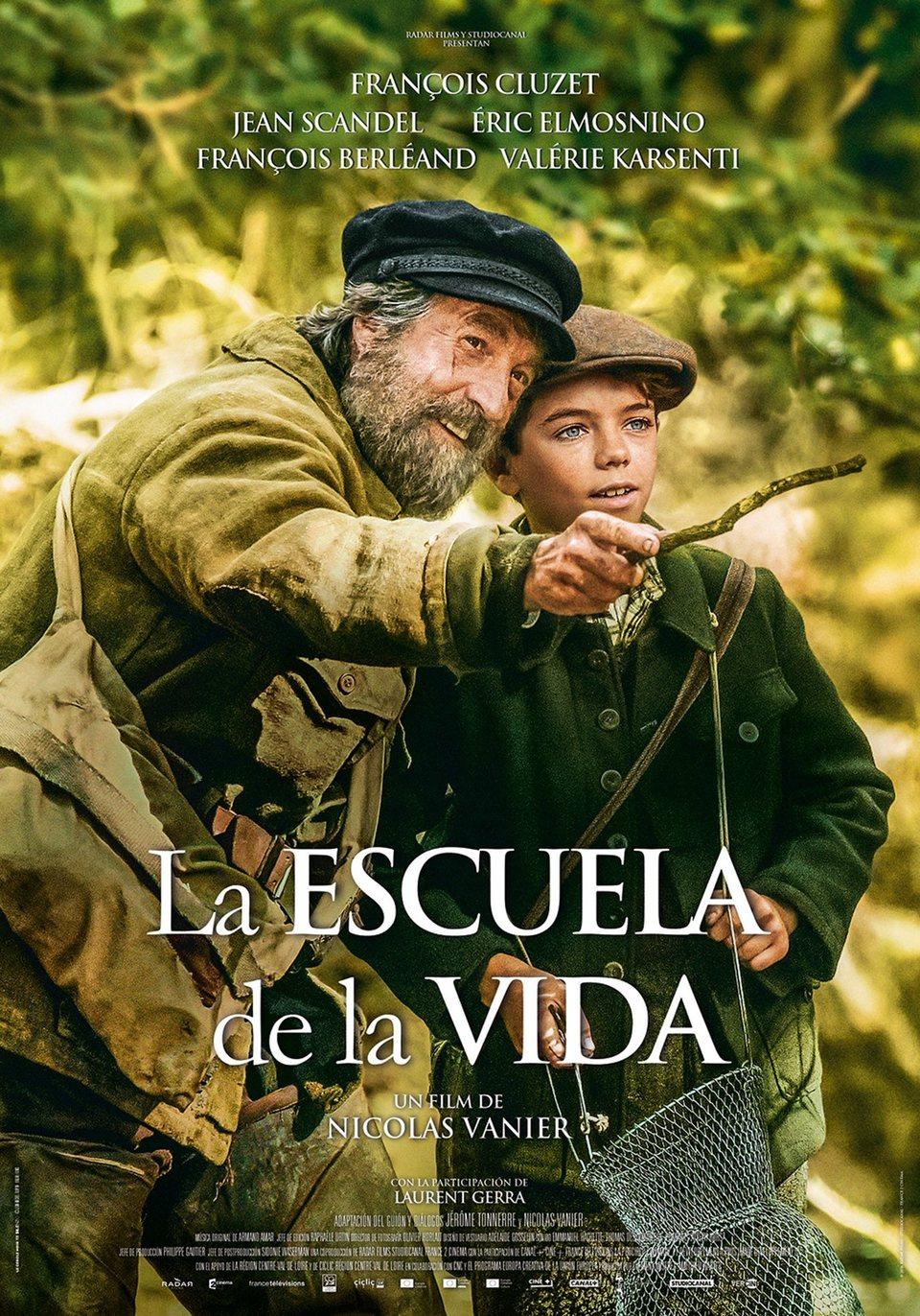 Cartel Cartel España de 'La escuela de la vida'