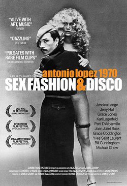 Cartel de Antonio Lopez 1970: Sex, Fashion & Disco