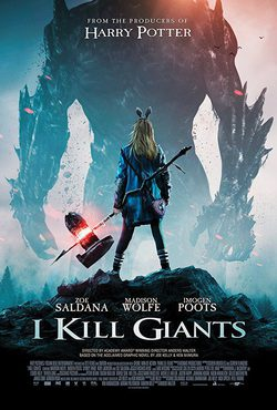 Cartel de I Kill Giants