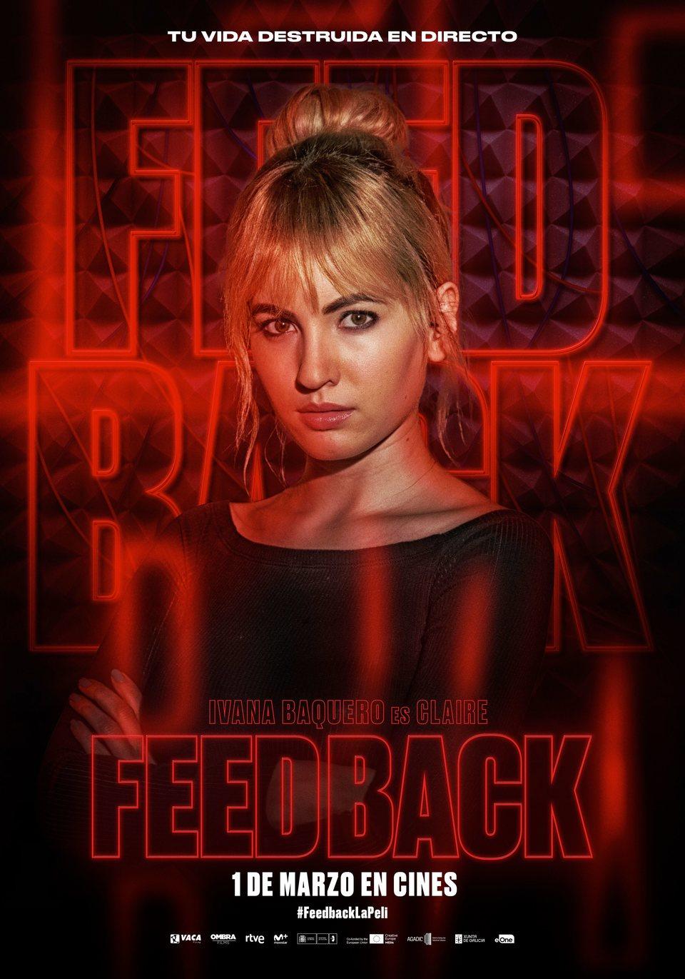 Cartel Claire de 'Feedback'