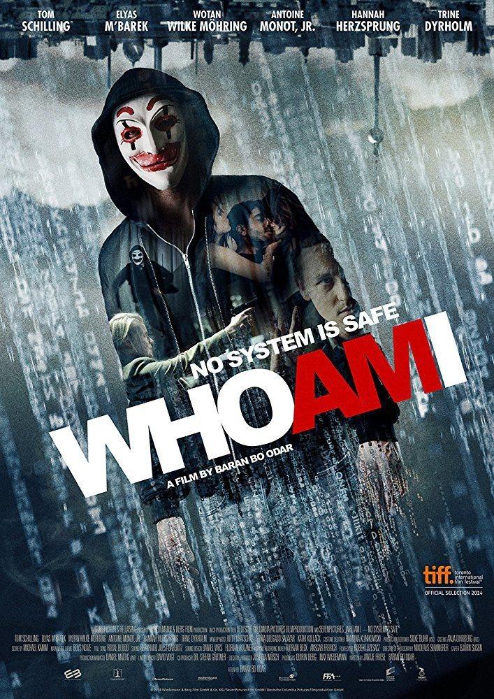 Cartel  de 'Who am I: Ningún sistema es seguro'