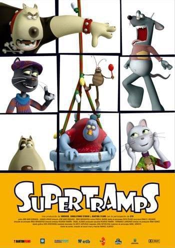 Cartel España de 'Supertramps'