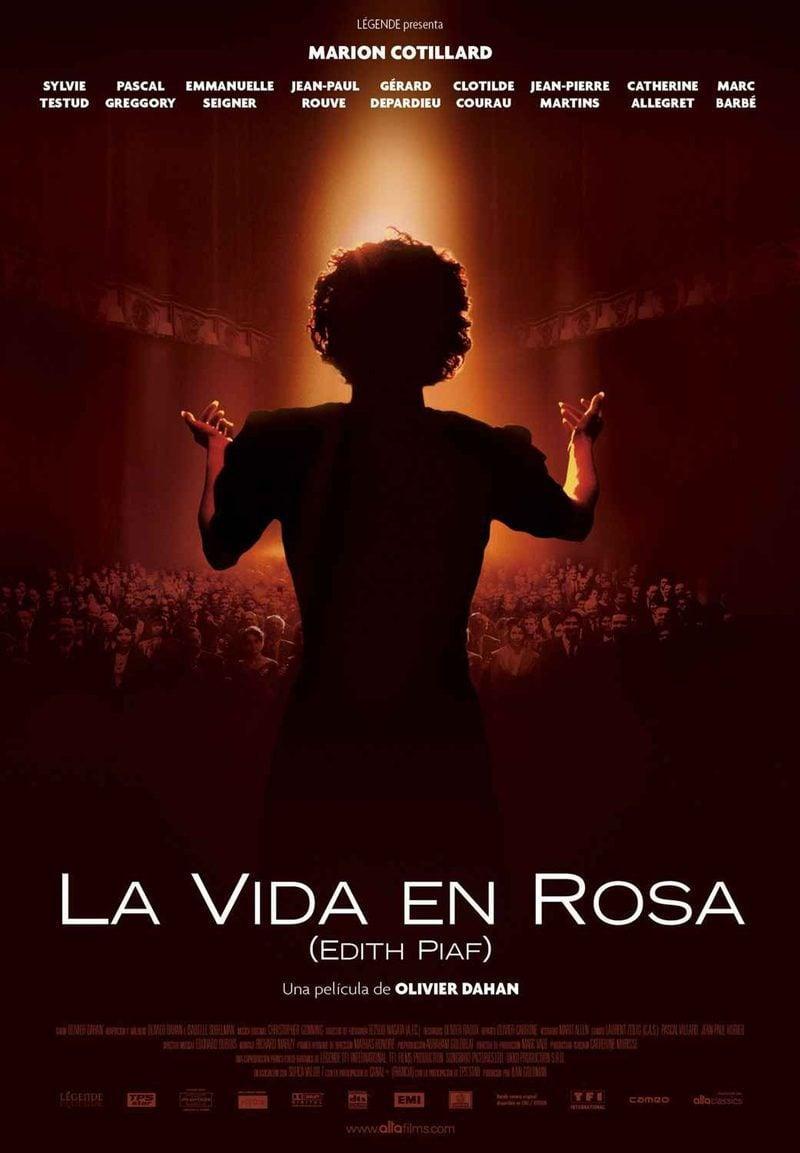 Cartel ESPAÑA de 'La vida en rosa (La môme)'